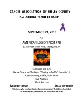 2013 Cancer Bash Flyer