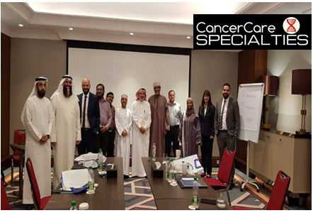 Dr Sadir Alrawi Dr Humaa Darr And A Number Of Other Doctors Attending Hernia Course In Muscat From Alzahra Oncology Center In Dubai Cancer Care Specialties