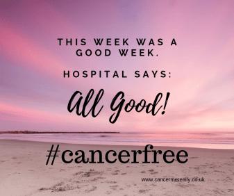 #cancerfree