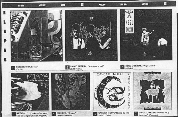 Lo mejor de 1990 en Rockdelux n.º 71 (enero 1991)