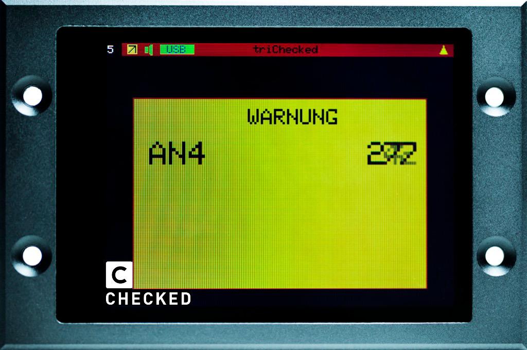 2.8 Display warning warning value popup