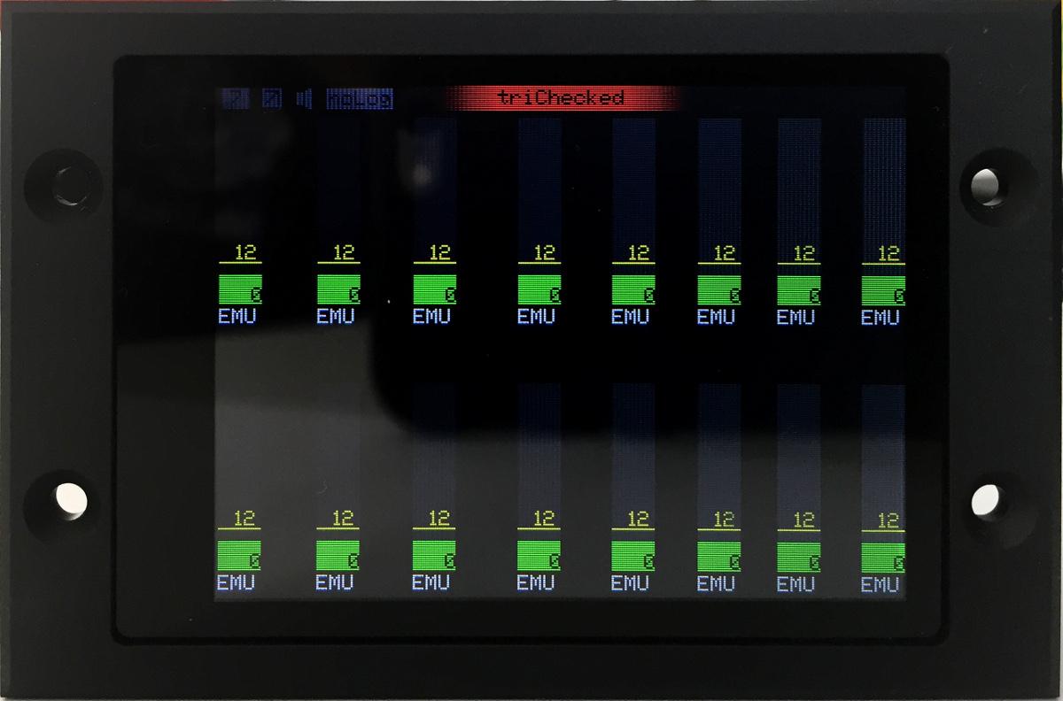 16fach AGT am display/anzeige