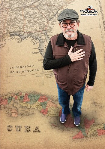 Silvio Rodríguez en la revista Garganta Poderosa.