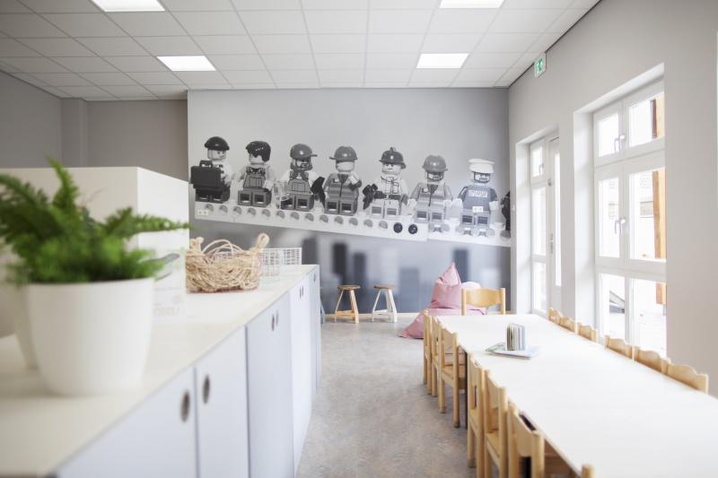 Ontwerp van een nieuw interieur van kinderopvang Simba