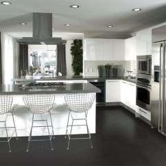 Cork Floor Kitchen Cabinet Deals Jet Black 8mm 5 16 Tiles 18 Sf Package Cancork Forna Flooring Interior Design Architecture Photos