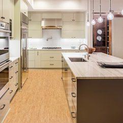 Cork Floor Kitchen Brushed Nickel Lighting Silver Birch 1 4 Tiles 22sf Pkg 5 86 3 29 Sf Cancork Modern Island Cabinets