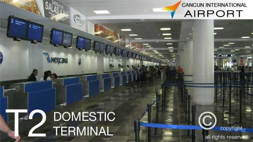 Cancun Airport Terminal 2 Information