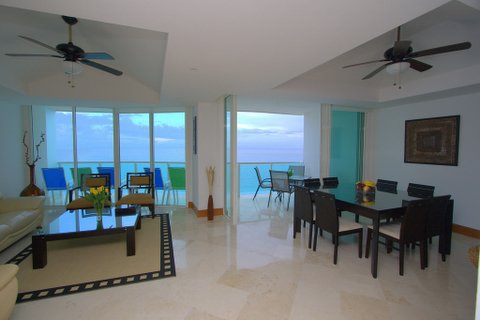 Cancun Condo Rental 3BR 3 Bath Unit 801