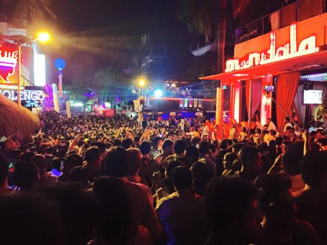New Year's Eve in Playa del Carmen