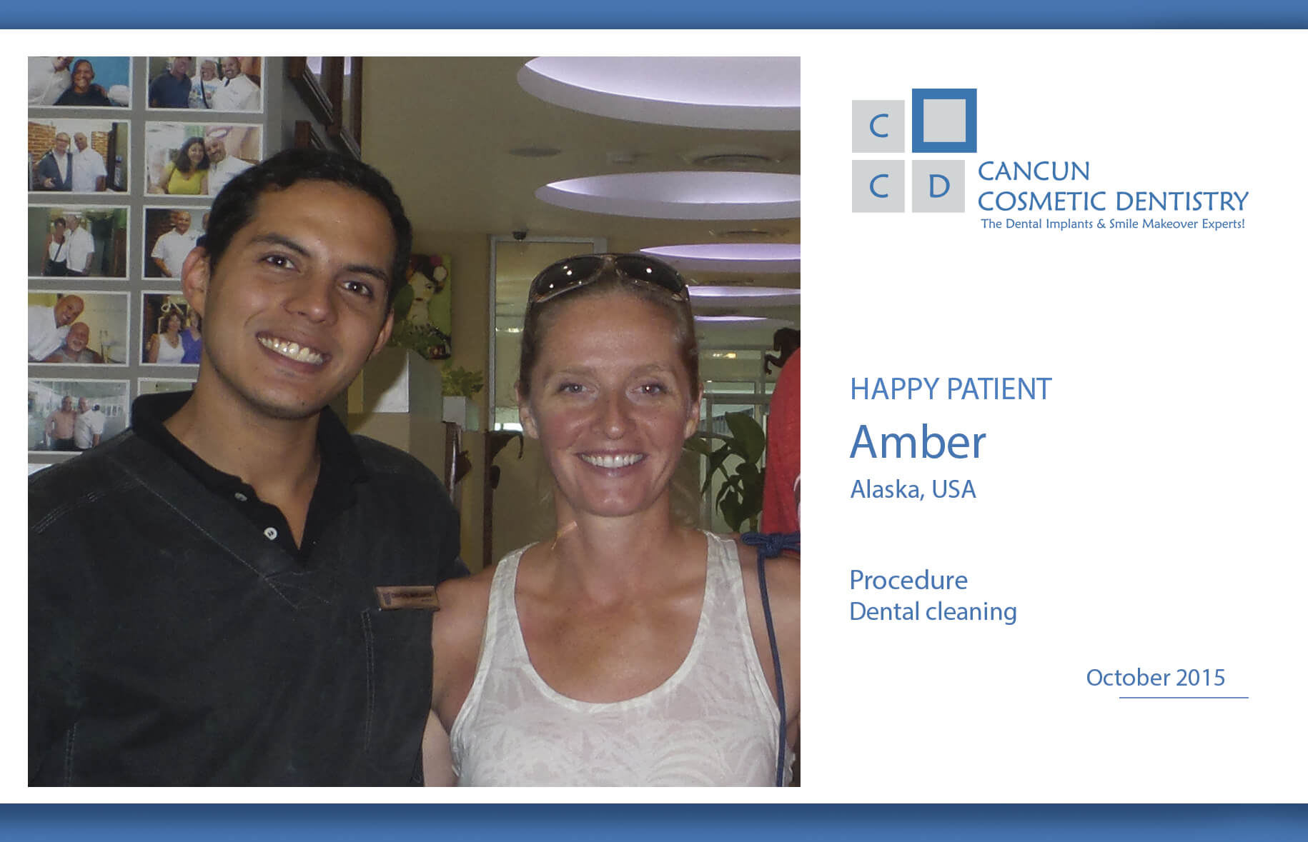 Get your dental cleaning on your vacation in Cancun!
