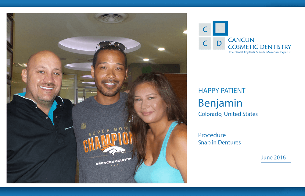New patient, new smile! – Cancun Cosmetic Dentistry