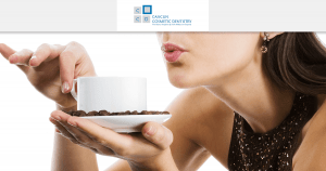 Coffee and tea can stain your teeth! – Teeth whitening in Cancun