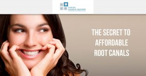 The secret to affordable Root canals