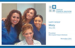 Heartwarming story of smile makeover in Cancun Cosmetic Dentistry!