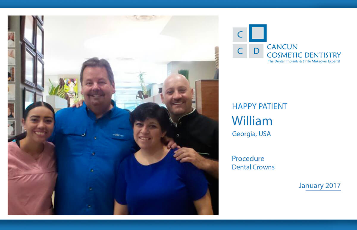 Happy Patient got affordable dental care and smile makeover!