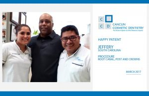 More happy patient reviews for Cancun Cosmetic Dentistry!