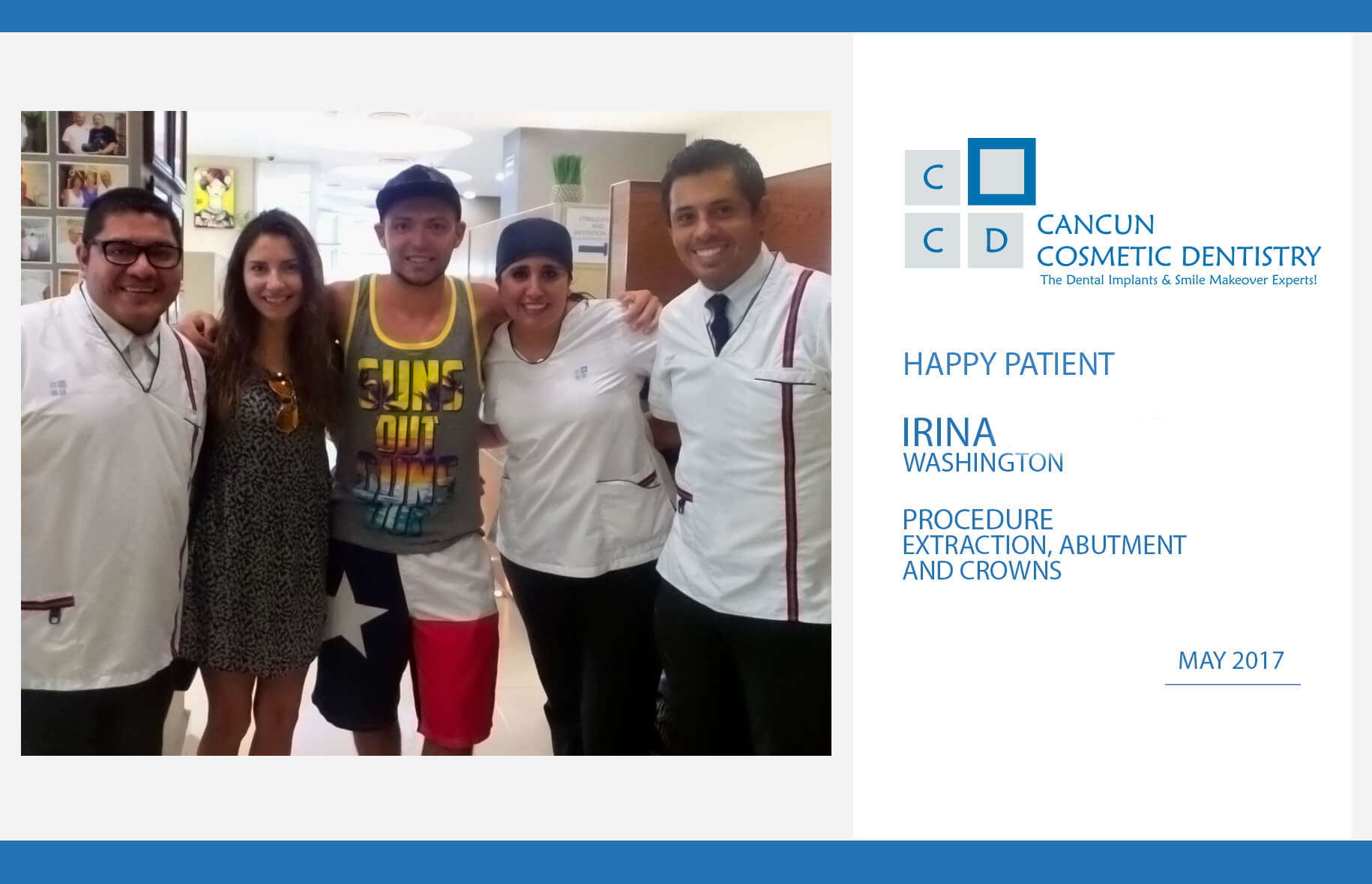 """""""Now I can smile again"""" – Real dental implant case"""