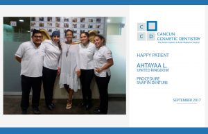 More and more Happy Patients in Cancun Cosmetic Dentistry!