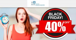TIME IS RUNNING OUT FOR OUR BLACK FRIDAY DEAL – Cancun Cosmetic Dentistry