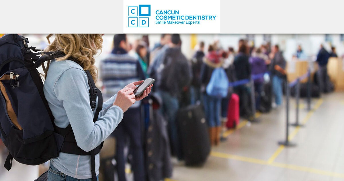 Why are Americans traveling to Cancun for dental tourism?