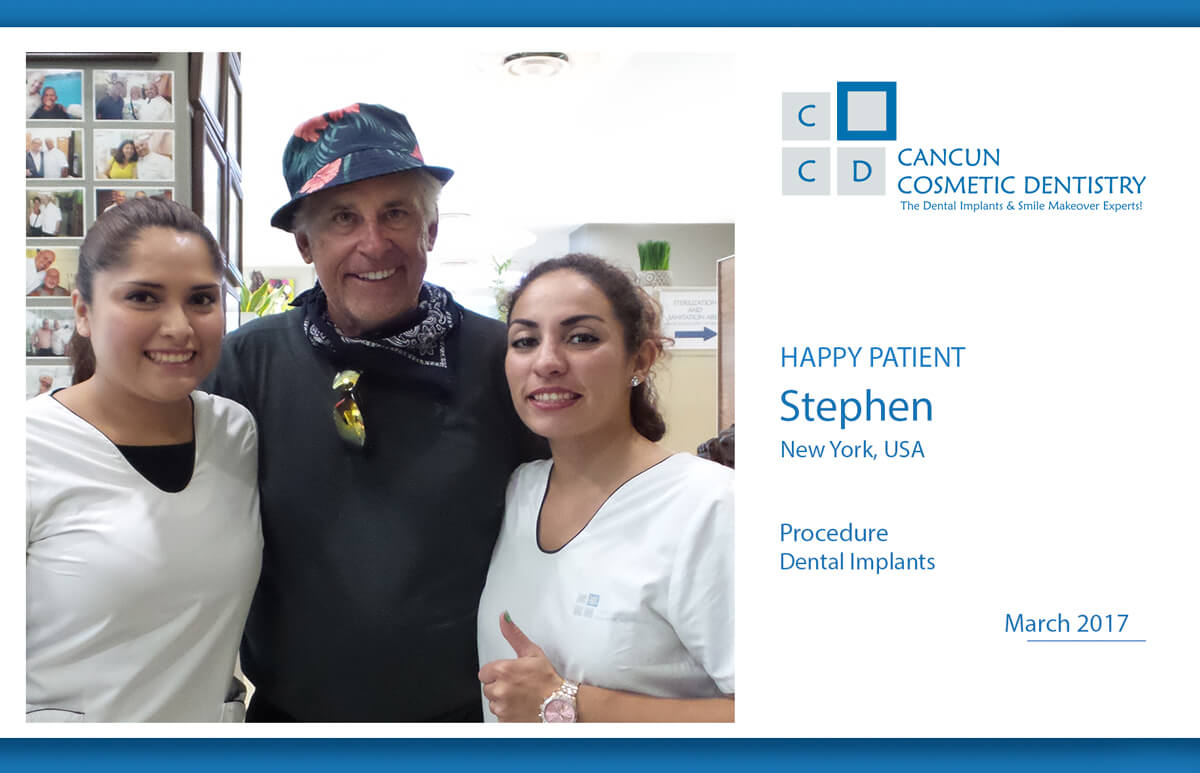 Cancun Cosmetic Dentistry testimonial review