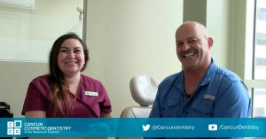 Amazing results in Cancun Cosmetic Dentistry (video testimonial)