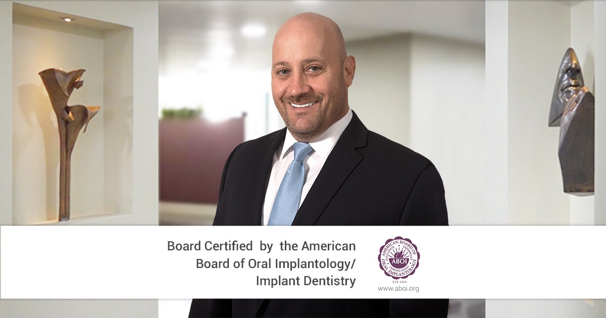 Doctor German Arzate just got certified by the ABOI/ID!