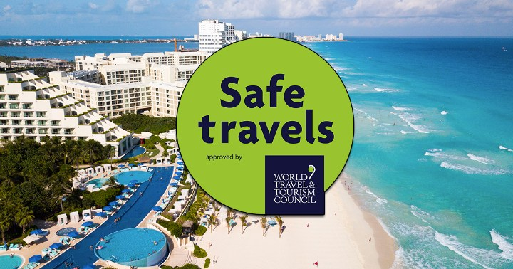 Cancun got the Safe Travel stamp by the World Travel and Tourism Council!