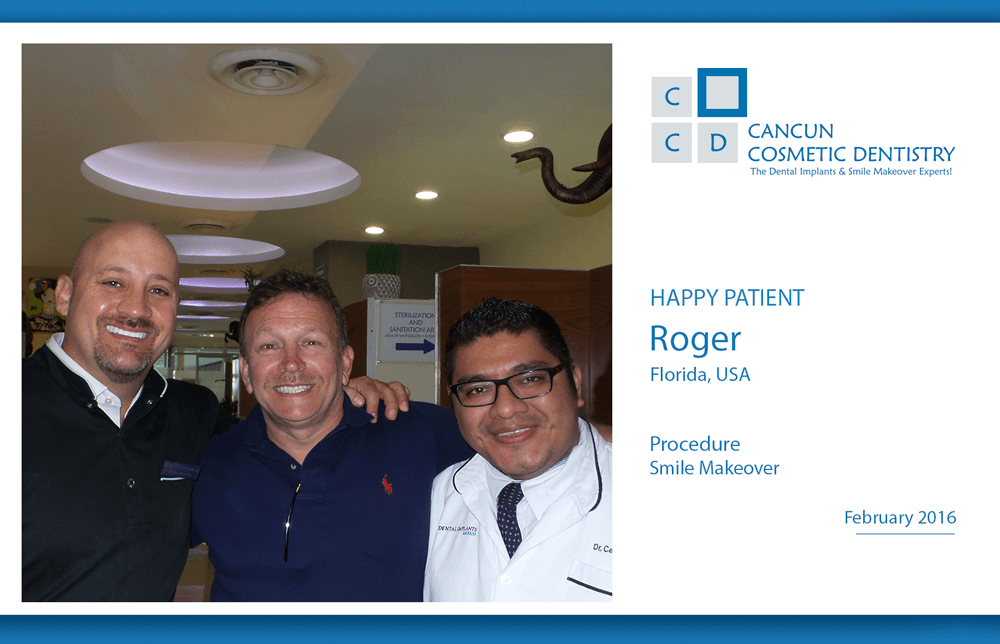 Full Complete Smile Makeover in Cancun Cosmetic Dentistry