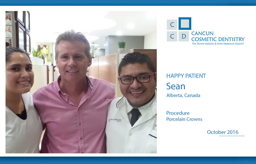 Affordable porcelain crowns in Cancun Cosmetic Dentistry