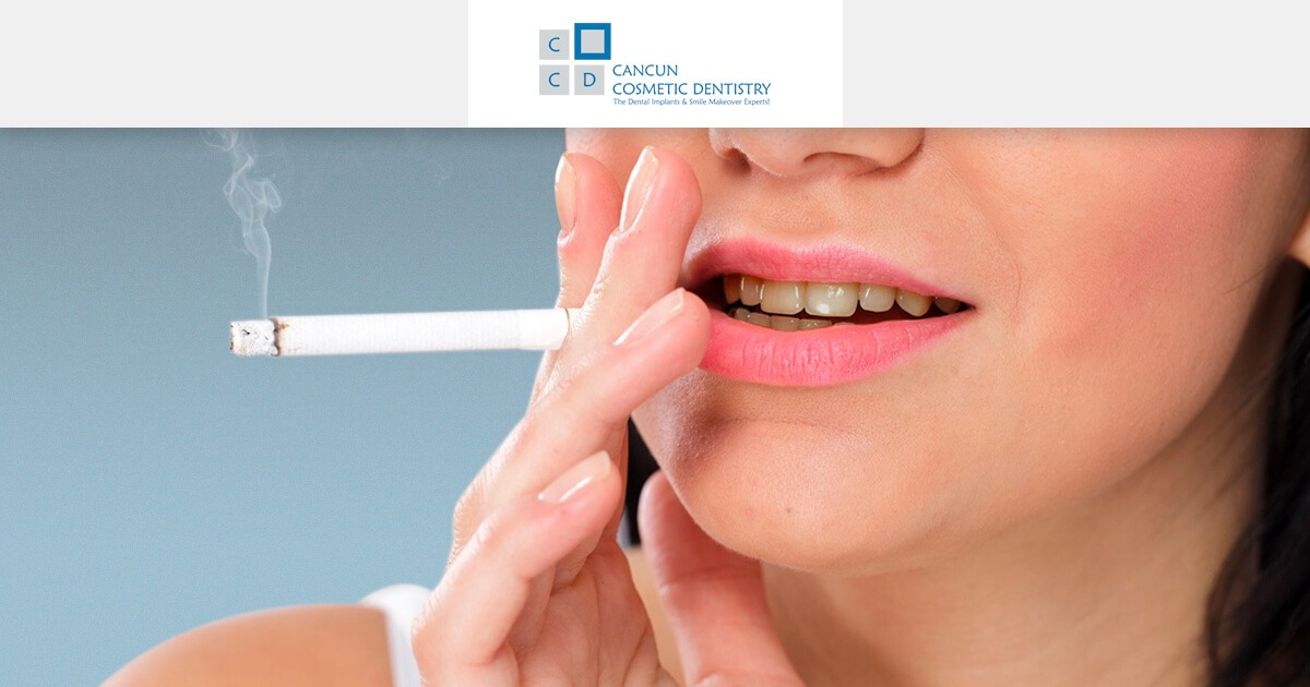 The side effects of smoking on the healing of dental implants