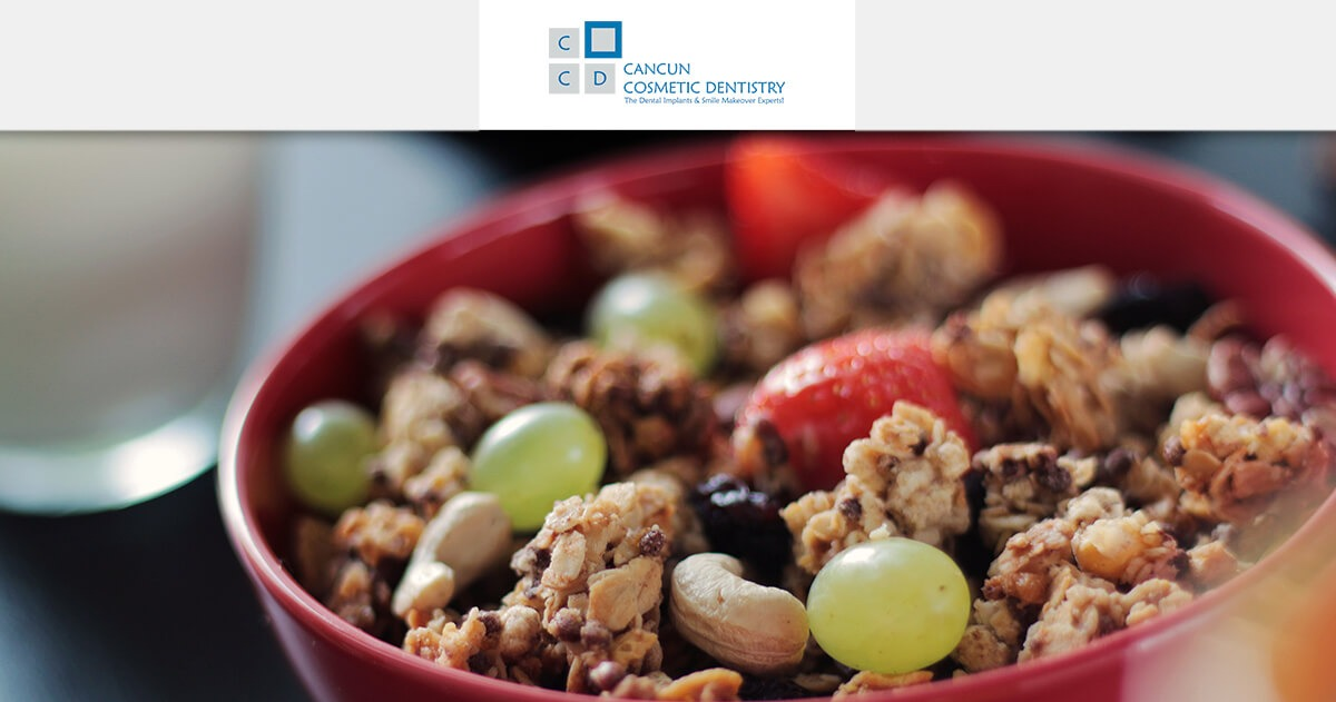What to eat to keep good oral health! - Cancun Cosmetic Dentistry