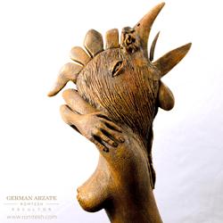 gallomujer_sculpture
