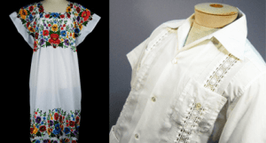 Buy a guayabera and huipil on vacation in Cancun