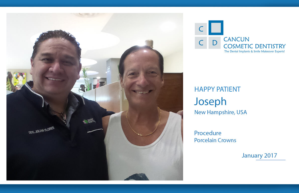 Get affordable porcelain dental crown in Cancun