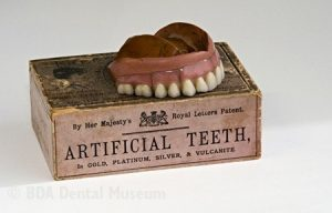 porcelain teeth at History of Dentistry