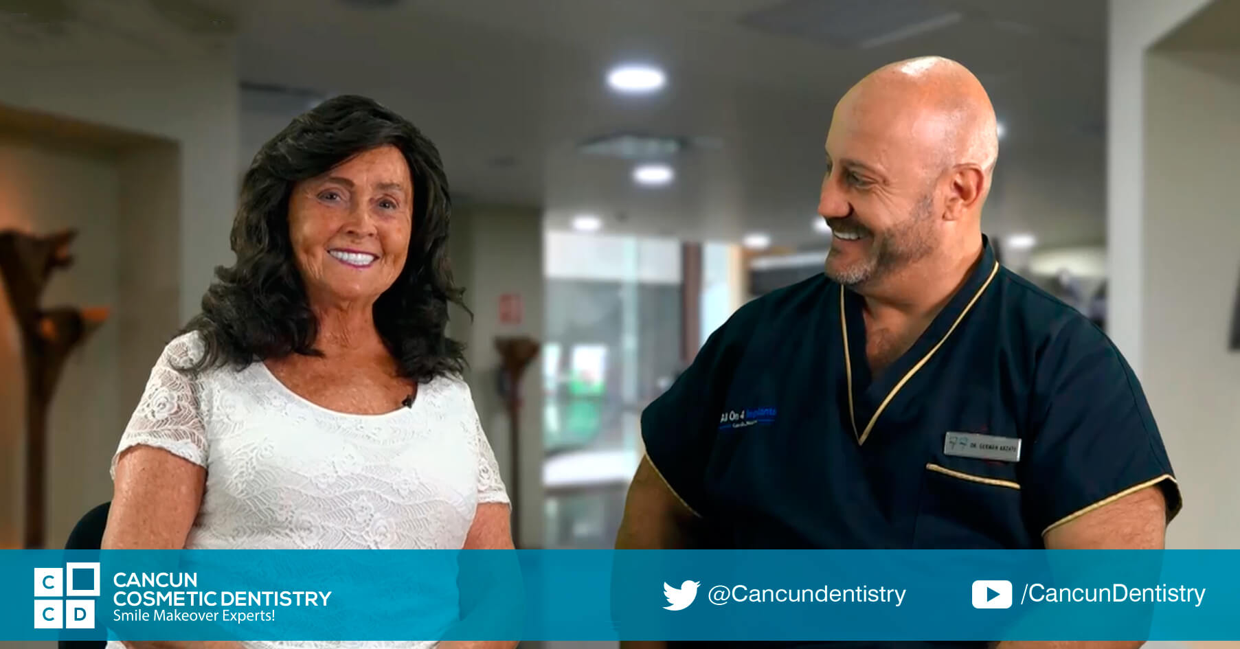 She feels better about herself - Cancun Cosmetic Dentistry Review