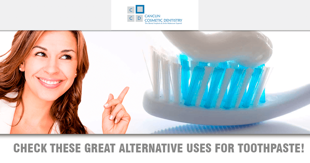 Amazing Toothpaste alternative uses!