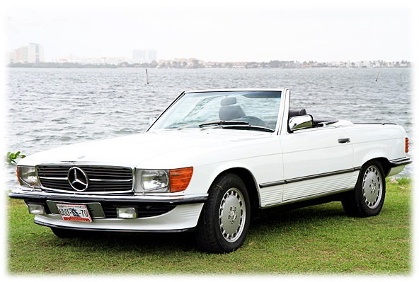 Mercedes Benz 1988 SL500