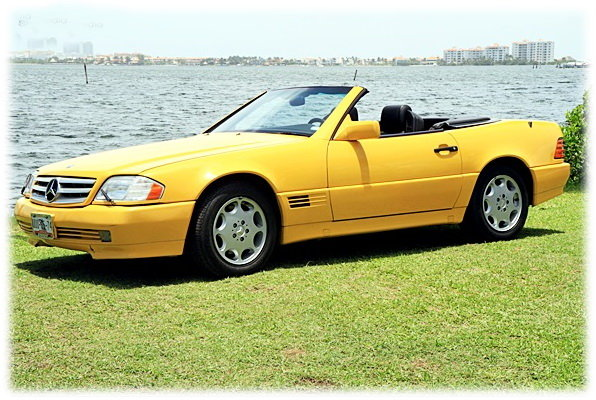 Mercedes Benz 1992 SL500