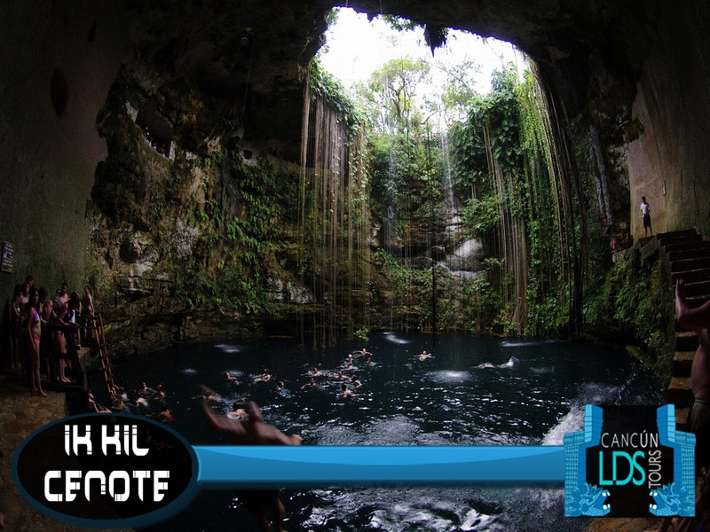 Ik kil cenote cancun lds tours