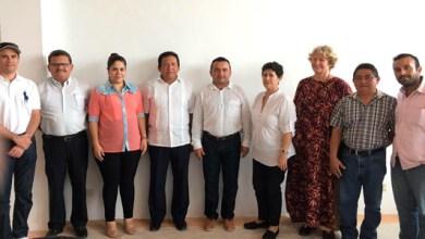 Photo of Director de Secundaria Técnica Pesquera llega a la Secretaría de Puerto Morelos