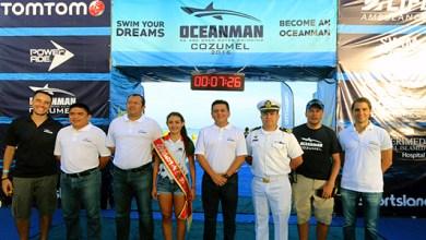 "Photo of Cozumel abre sus puertas al ""Oceanman"""