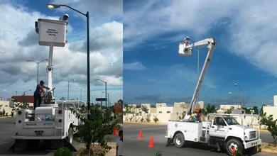 Photo of Se rehabilitaron e instalaron nuevas luminarias en Playa del Carmen durante agosto
