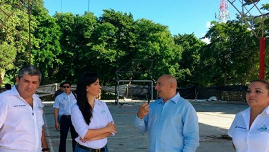 Photo of @LFpuertomorelos pone en marcha trabajos de rehabilitación de domos deportivos en Leona Vicario