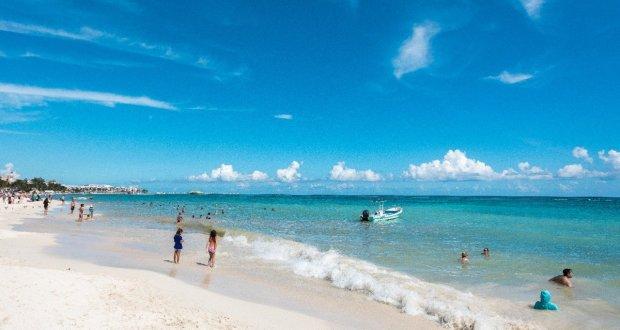 Frente frío limpia las costas de Playa del Carmen - Cancún Mio