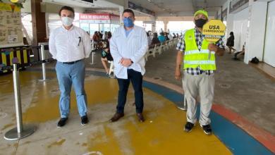 Photo of Retiran a personal de Cozumel de filtros sanitarios del muelle Navega en Playa del Carmen