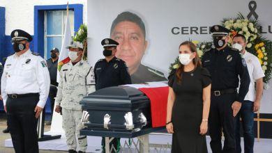 Photo of Homenajean a oficial caído en el cumplimiento de su deber