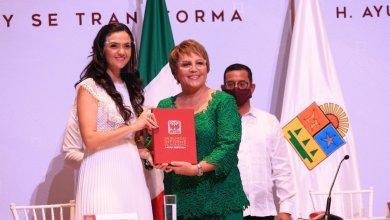 Photo of @LauraBeristain entregar ante la ciudadanía su segundo informe de Gobierno