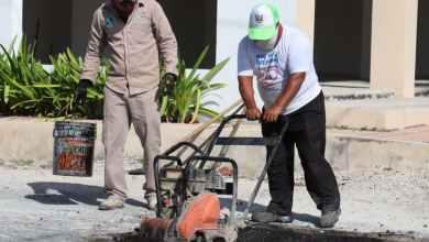 Photo of Cuadrillas intensifican trabajos de bache en Puerto Morelos